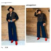 Meet Model, Justice Jackson That Slays In Unique And Stylish Footwears
