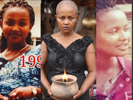 The Evolution Of Felicity Ama Agyemang As A Teenager To An Adult