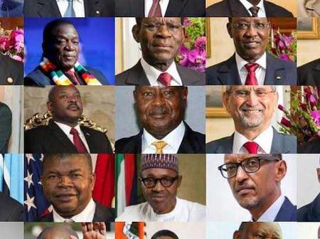 Opinion:  Top 5 Best Presidents In Africa (Photos)