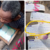 See the name that was written on the alleged ₦100 million cheque that was found in a ritualist den