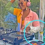 Here's why DJ Lamiez Holworthy Lites up the building with her music