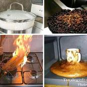 Nigerian Men: Checkout 13 photos of things that will probably happen when men decide to cook