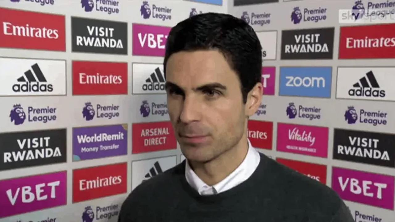 'It's unacceptable the position we are in. We have to improve this dramatically': Mikel Arteta reacts to Leicester win