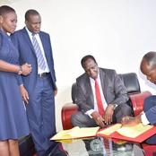 Raila Suffers a Blow as Top ODM Official is Named in the Race to Pick DP Ruto's Running Mate in 2022