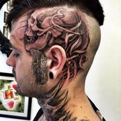 Dear Ladies, Would You Marry a Man Who Has This Volume of Tattoos on His Body?  (See Photos)