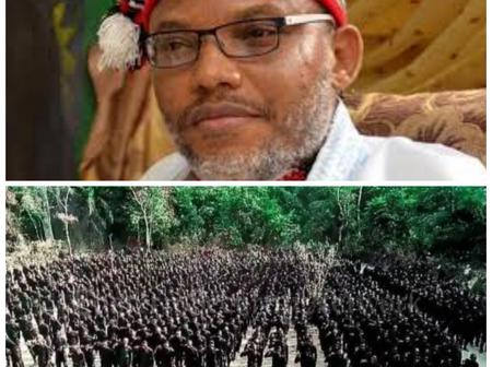 IPOB LEADER: Nnamdi Kanu Shares Photos Of 'ESN' As He Quoted Frederick Douglas's Quotes On Twitter
