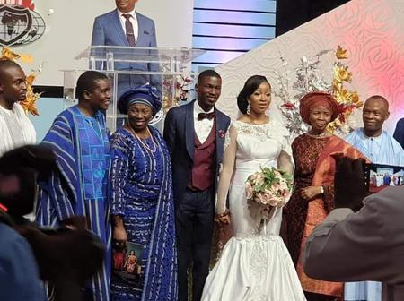 Bishop David Abioye's First Son David jnr ties knot with wife Rita In Abuja