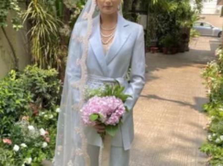 Check Out The Reason Why This Woman Wore A Suit For Her Wedding Instead Of A Wedding Gown