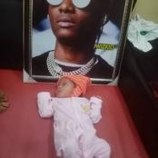 Reaction As Wizkid's Fan Posted That He Dedicated His Child To The Musician When He Was Born