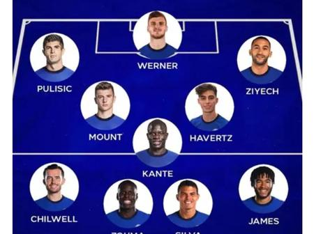 Champions Mentality! See Chelsea's Strongest XI That Could Give Them EPL Title & European Dominance