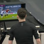 VAR And Referee Leaves Manchester United Fans Angry After This Decisions In United Vs Spurs Game