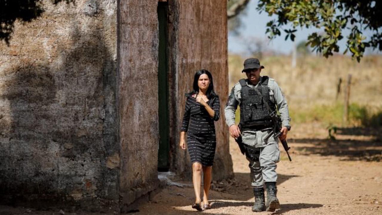 Manhunt for escaped con captivates Brazil, terrifies town