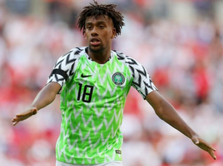NFF reveals that Alex Iwobi will play against Lesotho after his Covid-19 test returned negative.