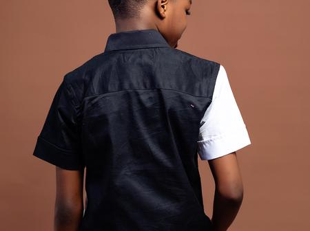 Wizkid's 1st baby mama shares new pictures of Boluwatife modelling for his clothing brand (pictures)