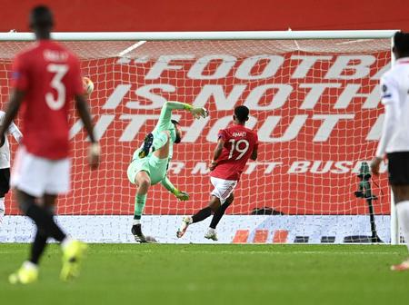Amad Diallo wins Goal of the month award for Manchester United