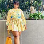 Plus size model Sboe Mathenjwa looking stunning in these outfits