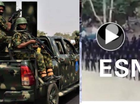 Today's Headlines: Soldiers Deployed To Stop Clash Between Ebonyi And Benue; HURIWA Speaks About ESN Merging With