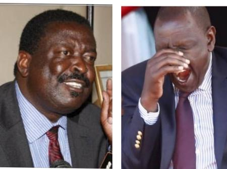Mudavadi Lands Himself In Trouble with Netizens Over His Remarks On DP Ruto's BBI Stand