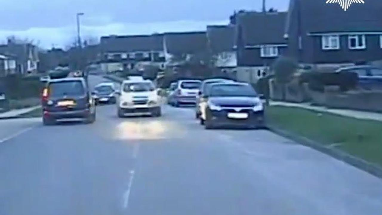 Drink driver leads police on 60mph pursuit before crashing into bollards