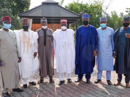 Saraki, PDP Leaders Visit Kwankwaso Days After President Buhari Appointed New Service Chiefs -PHOTOS