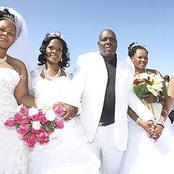 He married 4 women on the same day, at the same time