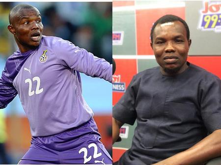 Do You Remember Ghanaian Goalkeeper Richard Kingston? See His Current Looks