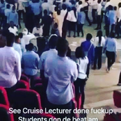 Students beat lecturer in University of Abuja inside exam hall