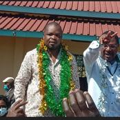 Good News to Ford-Kenya's Leader Moses Wetangula as the Party Wins by a Landslide in Kabuchai
