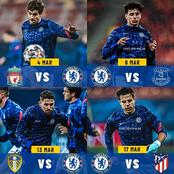 Tough, difficult and tricky, Chelsea next four matches will be decisive. Take a look