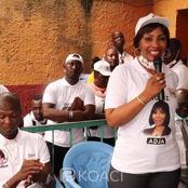 Adjaratou Traoré, candidate RHDP, accusée de financer des candidats indépendants, elle dément