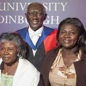 See Some Beautiful Throwback Photos Of John Aguekum Kufuor's lovely Family