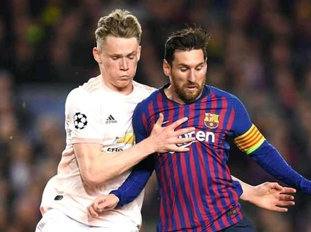 Man United's Scott McTominay Narrates Story of How Messi Refused Giving Him His Jersey.