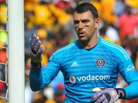 Orlando Pirates Goal Keeper Set to Face an Exit at The Club