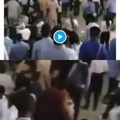 Uniabuja students beat up lecturer, see what he did (video)