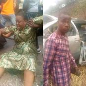Two Died On Enugu-P/Harcourt Expressway After A Car Heading For Burial In Imo State Had An Accident
