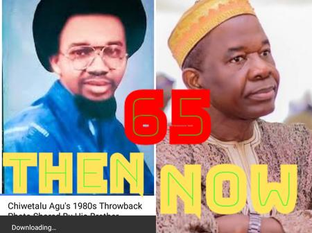 Nollywood, Actor Chiwetalu Agu Is 65 Today ,Wish Him Well