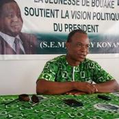 Meeting du PDCI-RDA à Bouaké : le Délégué Brou Alexis donne des précisions