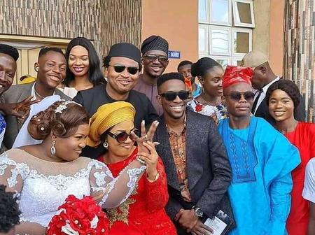 Checkout beautiful pictures of Eezee Concept act, Judikay as she finally walked down the aisle