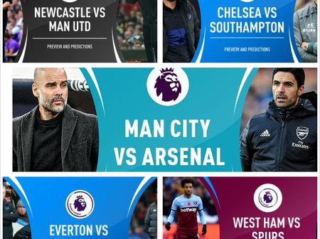 Five interesting games to watched out for in the Premier League this weekend