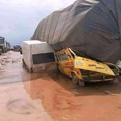 """""""This Is Serious"""" - See The Current State Of Some Nigerian Roads That Are Currently Deathtraps"""