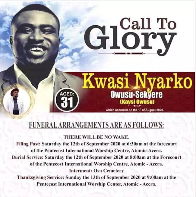 6f8c0ca4d30aa34dd7e68f0a8e4df3ba?quality=uhq&resize=720 - So sad: Video of Joe Mettle's Gospel son's final burial service Kaysi Owusu, causes tears - Watch video