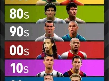 OPINION: Ronaldo & Messi Are The 2 Best Players Of Every Decade Since 1970 To 2020