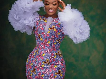 Queens, Serve Hot Wedding Guest Style Goals with these Elegant Ankara Dresses.