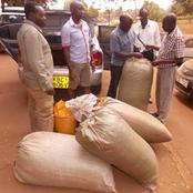 Police Confiscate Bhang Worth Ksh 3 Million After A Tip-Off Along Isebania-Migori Highway