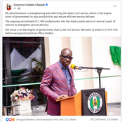 Edo: PDP Disappointed As Obaseki Rules Out Forming His Cabinet Anytime Soon (Photo)