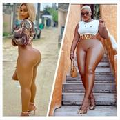 These 8 People Slay Beautifully in Skin Coloured Clothes. Check Out Their Pictures.