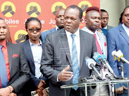 Jubilee Party Leadership Vows to Kick Out DP Ruto Allies Who Joined UDA
