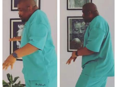 Don Jazzy Displays His Dancing Skills In Video