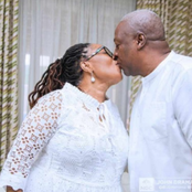 Happy Birthday, My Dear Lordina - Mahama Sends Heartfelt Message To His Wife On Her Birthday