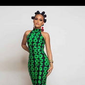 Ankara Turtle-neck Pencil Dress